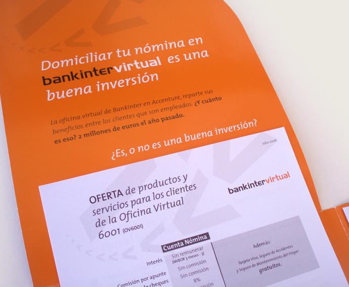 Studio comendador proyectos accenture for Oficina virtual bankinter